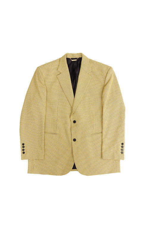 Oversized Shoulder Jacket - Yellow