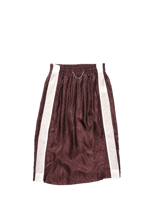 Lingerie Skirt - Brown