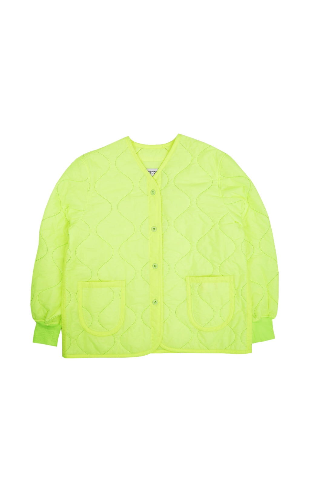 Light Quilting Jacket - Neon Yellow