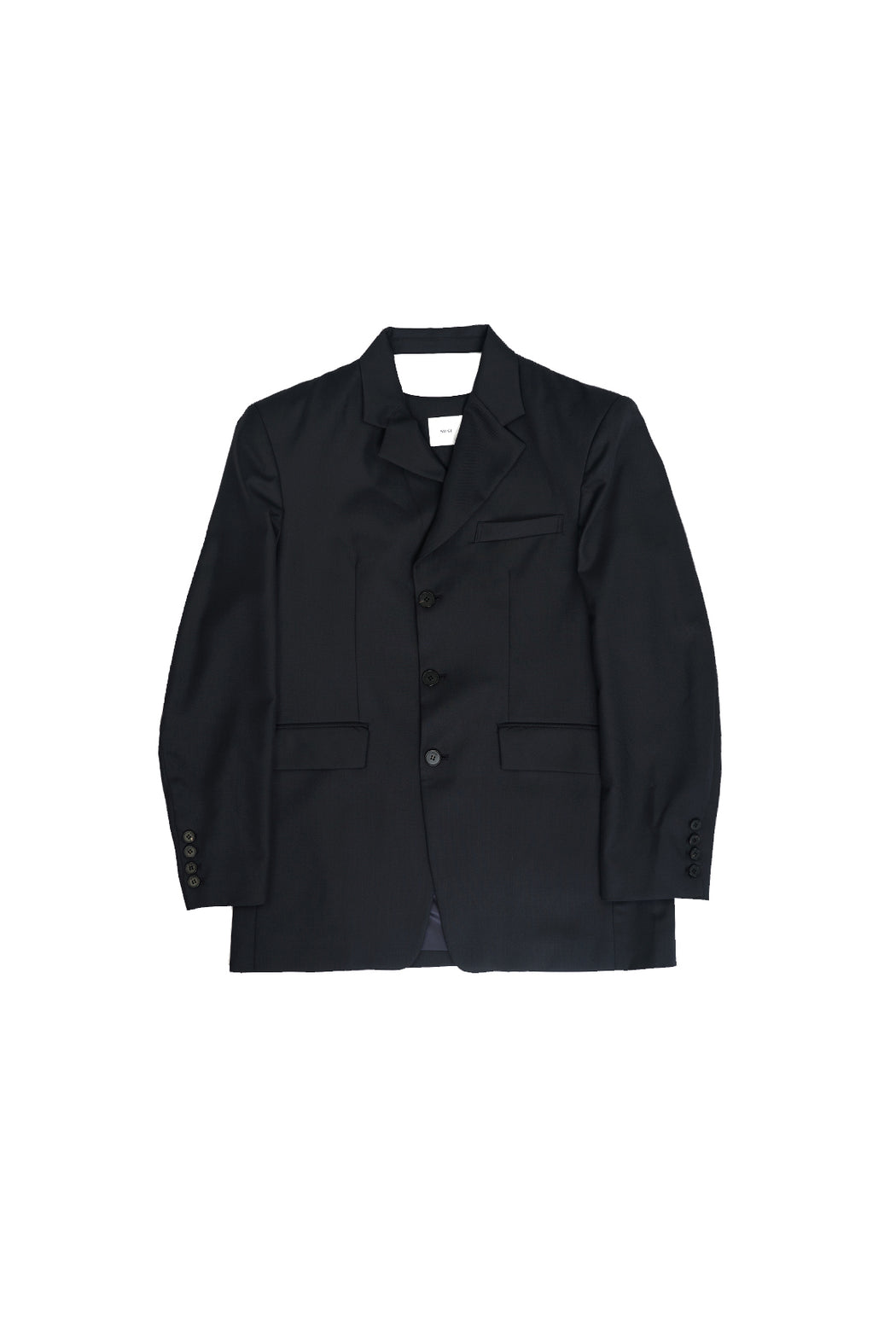 Back Cutting Blazer - Dark Navy
