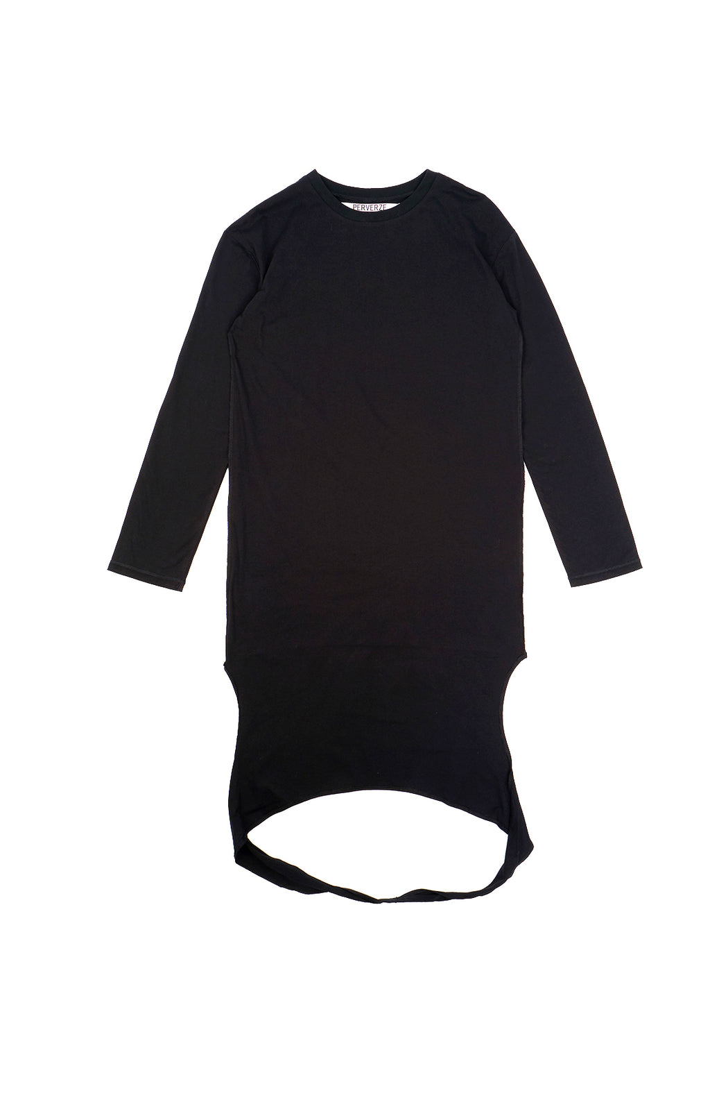 Long Length Tee - Black