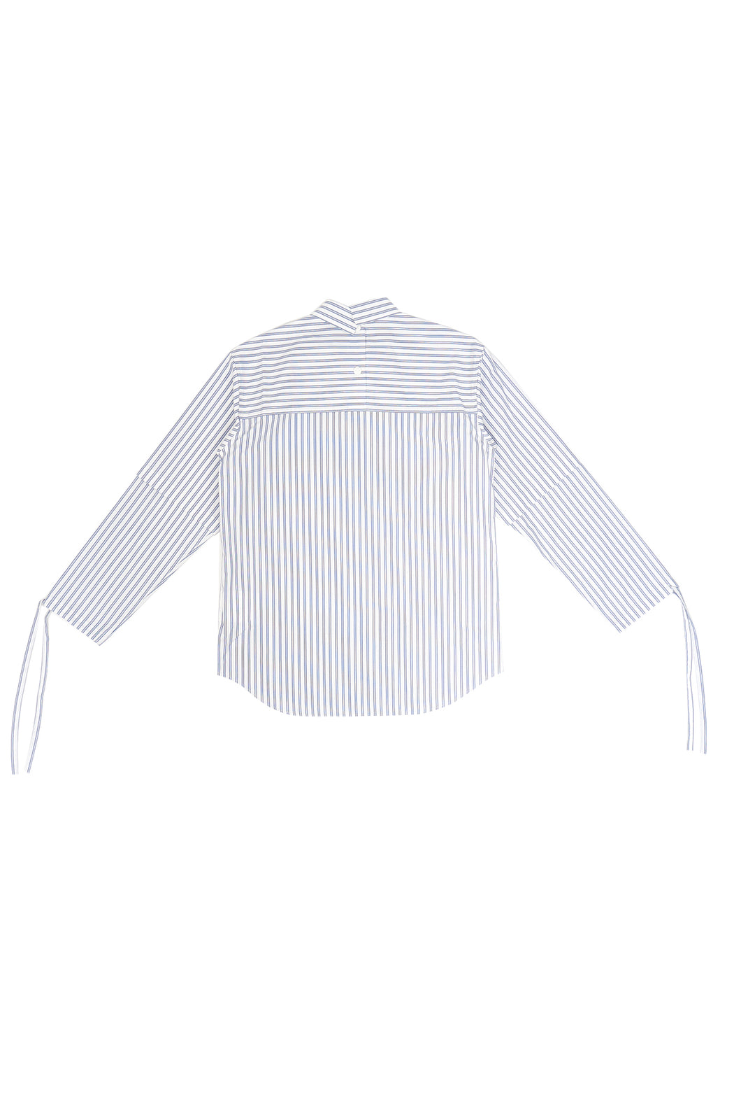 Kudos Soduk Double Sleeve Stripe Shirt - White