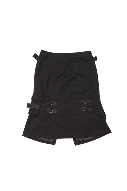 Cargo Mini Skirt - Black