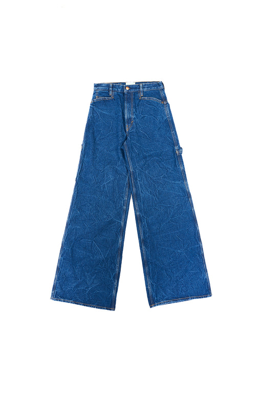 Carpenter Wide Leg Jeans - Blue