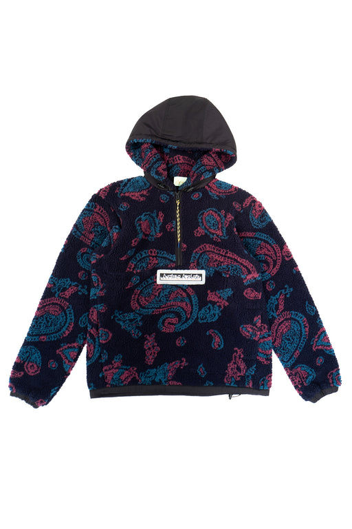 Paisley Half Zip Fleece