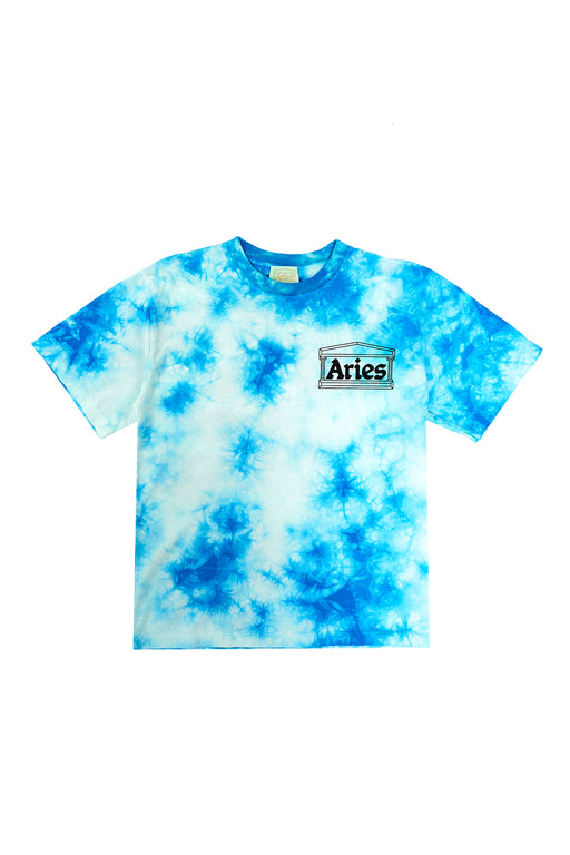 Temple Tiedye Tee - Blue