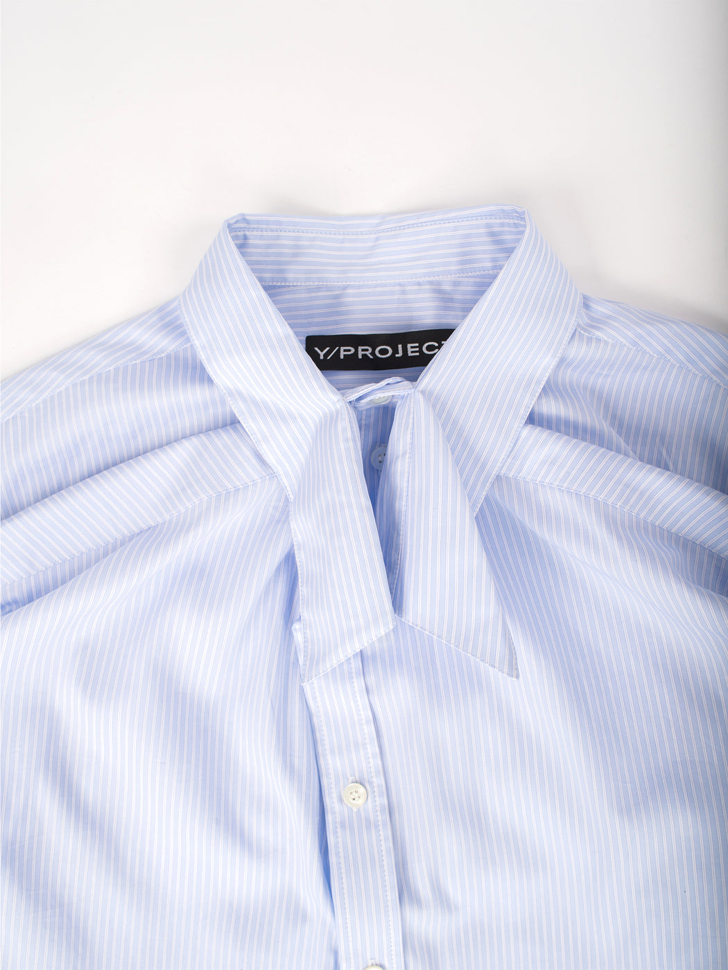 Skinny Shirt - Blue Stripes