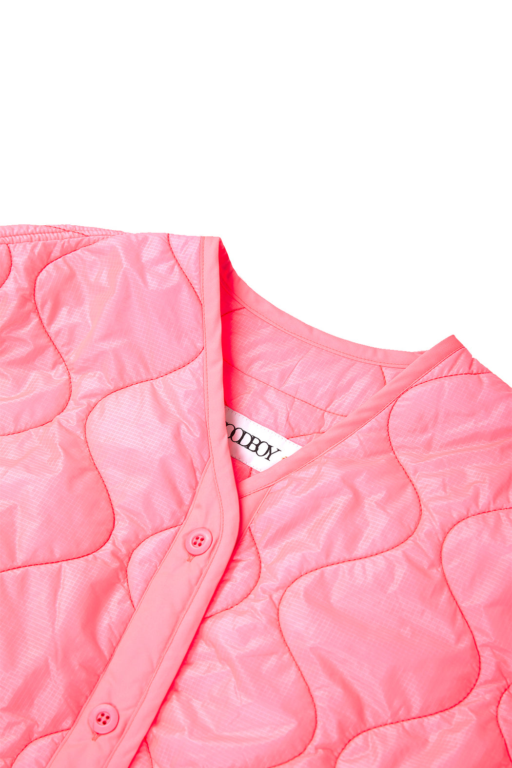 Light Quilting Jacket - Neon Pink