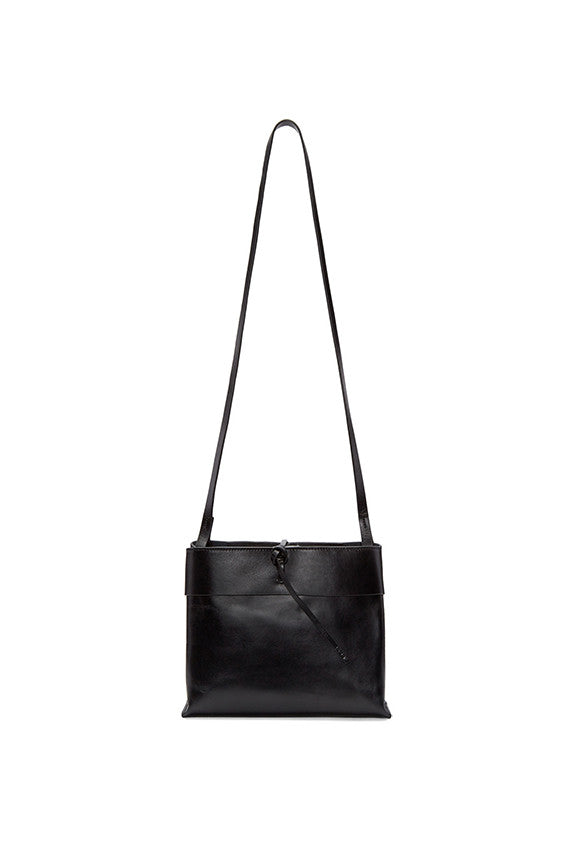 Tie Crossbody - Black