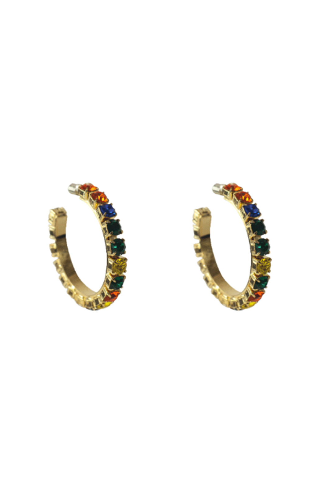 "2"" Medium Round Hoop Earrings"