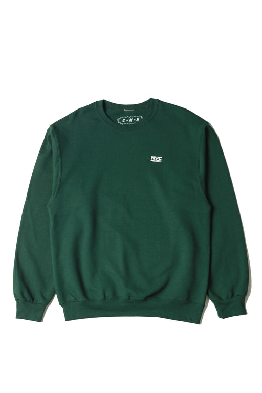NYC DVD Sweatshirt - Forest Green