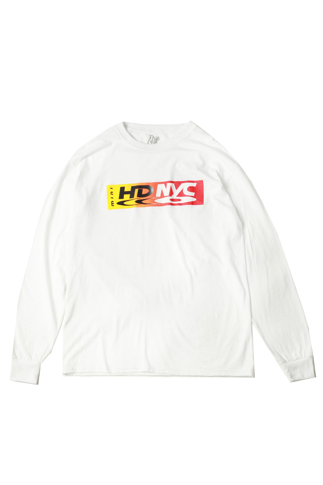 Double Gradient Longsleeve - White