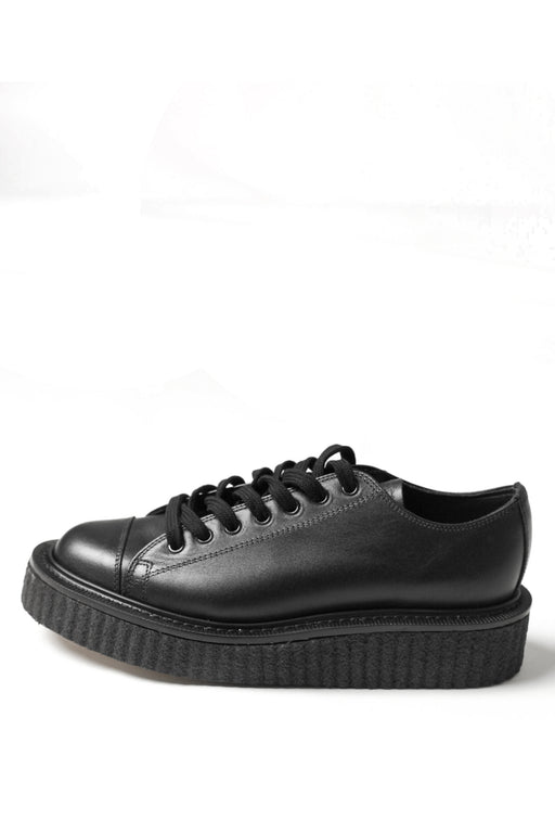 George Cox Leather Sneakers - Black