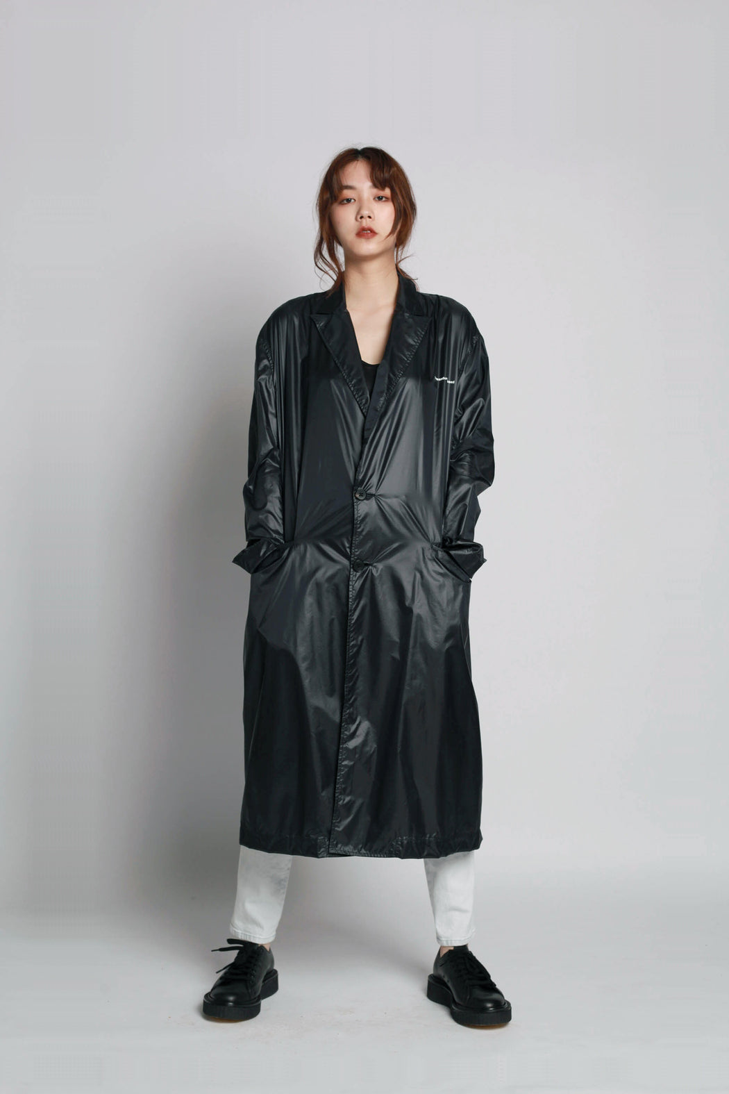Nylon Coat - Black