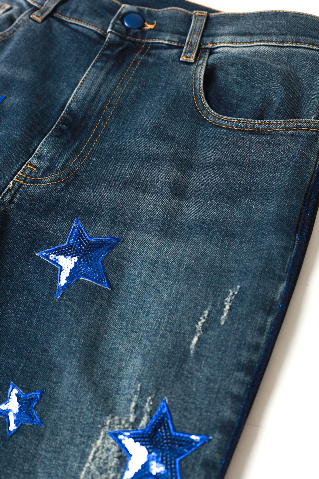 Star Patch Jeans