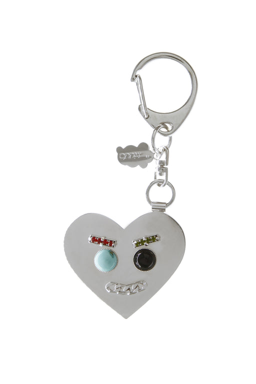 Smile Key Ring - Silver