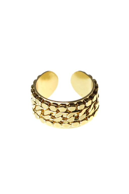 K Triple Ring - Gold