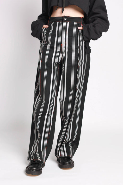 Panel Pant - Stripe/Reflective