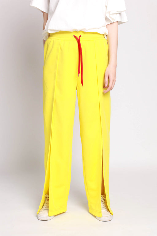 Slit Pant - Yellow