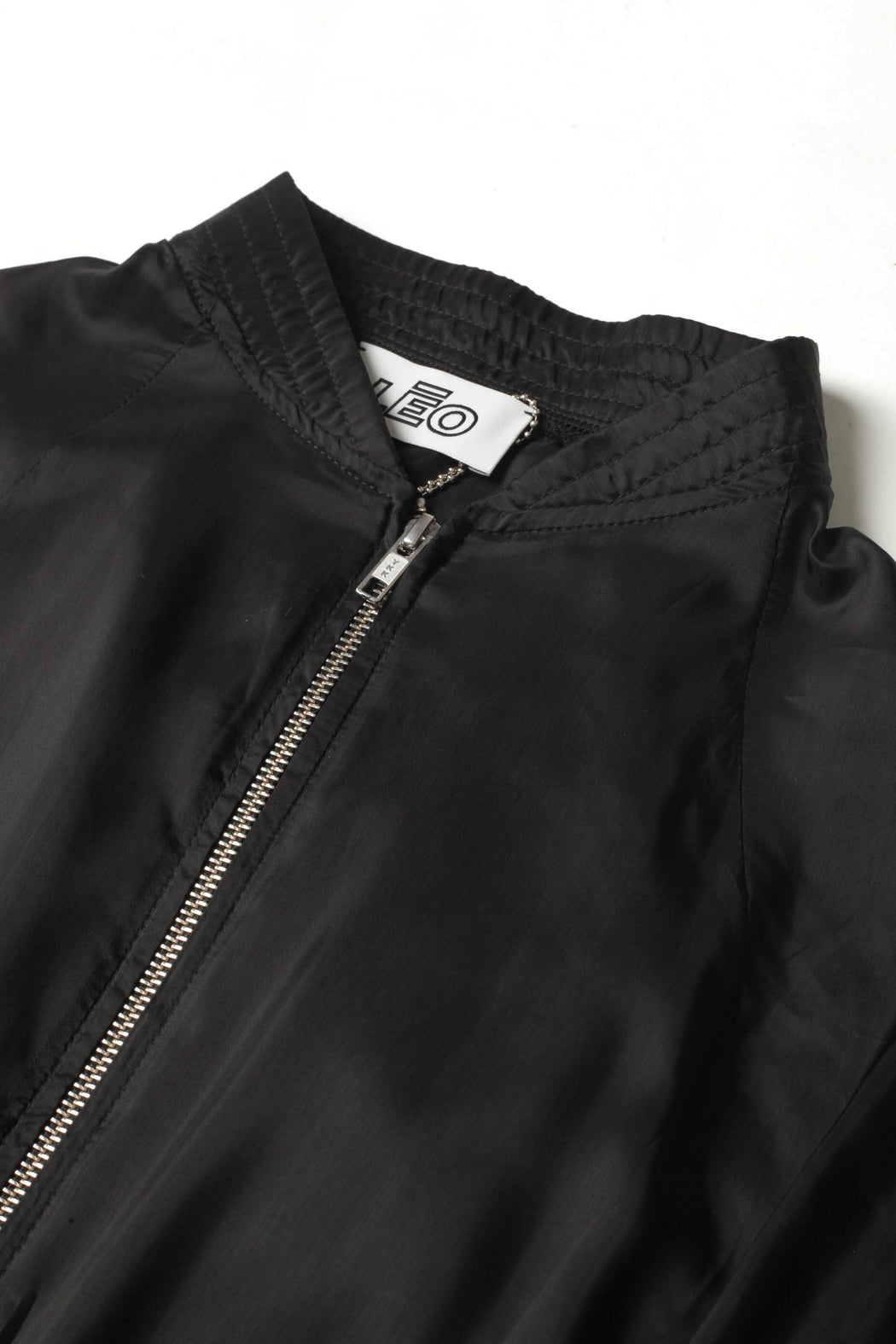 Yzer - Black Technical Cupro Track Jacket