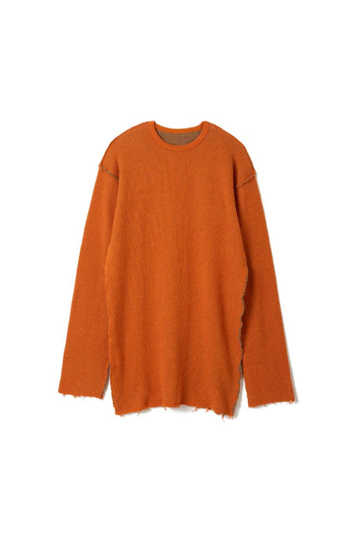 Double Face Rib Knit - Orange