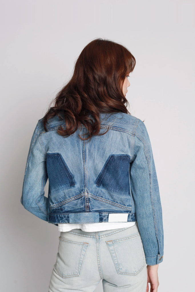 fc7f34fdf444 Reconstructed Denim Jacket - CLASH