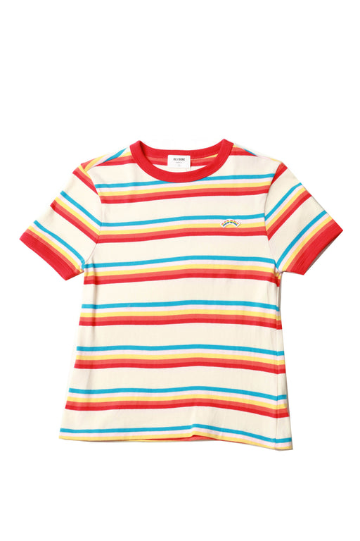 Ringer Seventies Striped Shirt - Red