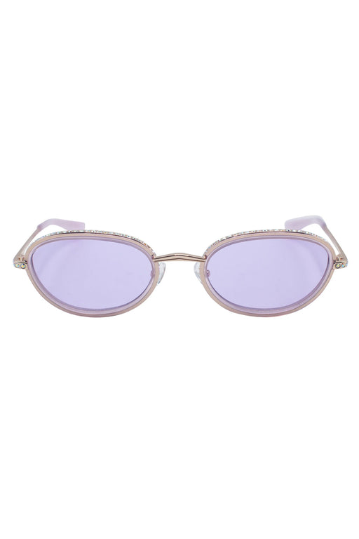 AREA x LINDA FARROW SUNGLASSES - LILAC
