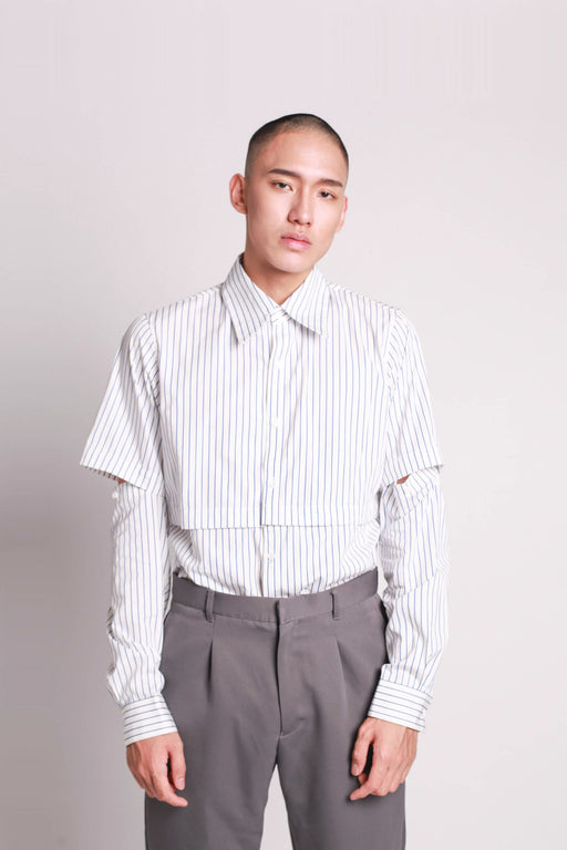 Combination Shirt - Stripe
