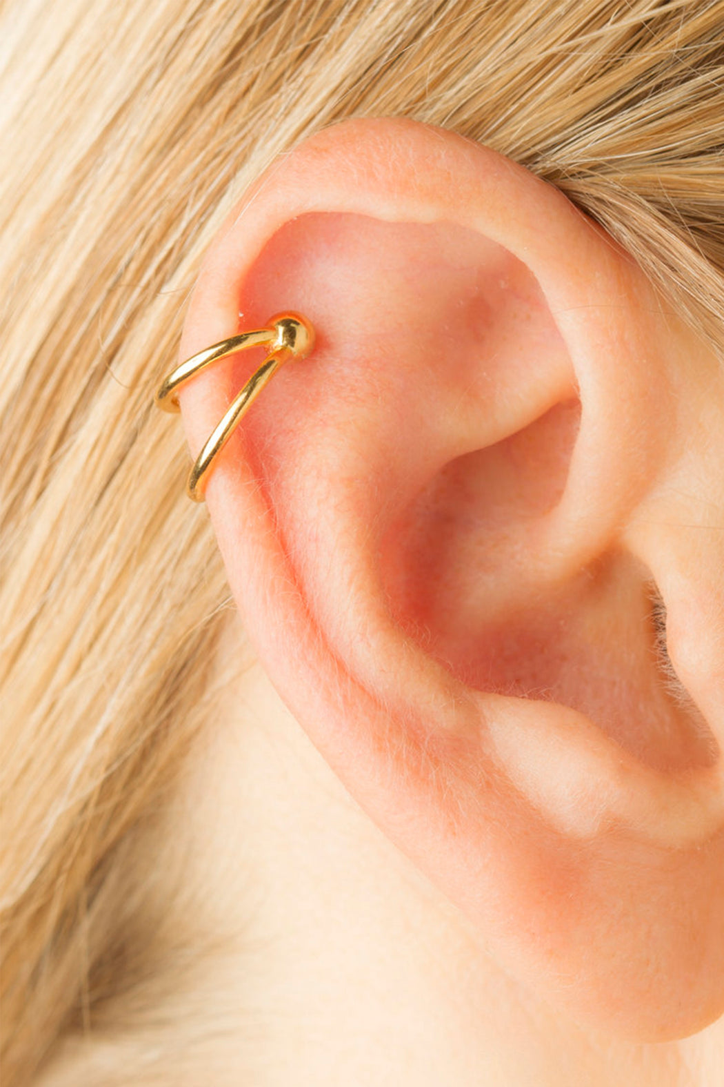 Anna Earclip - Gold
