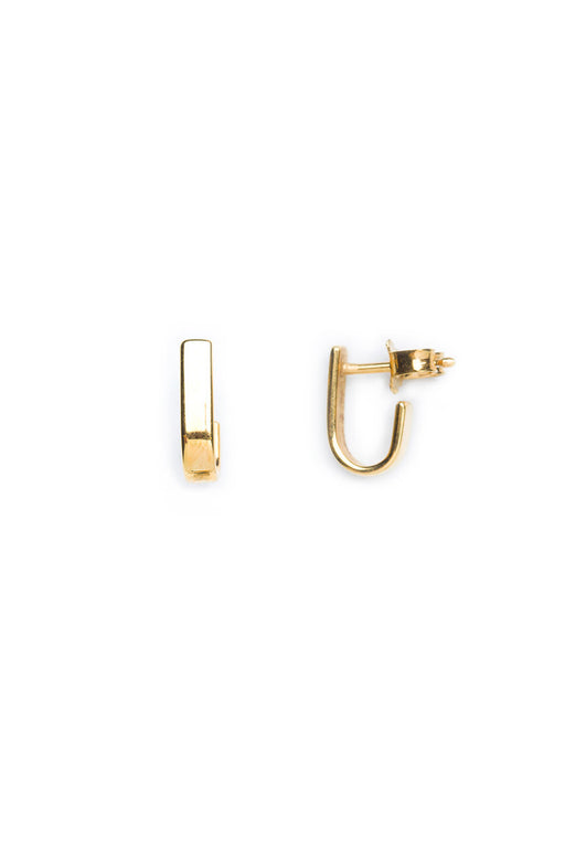 Anna Earring Narrow Band - Gold