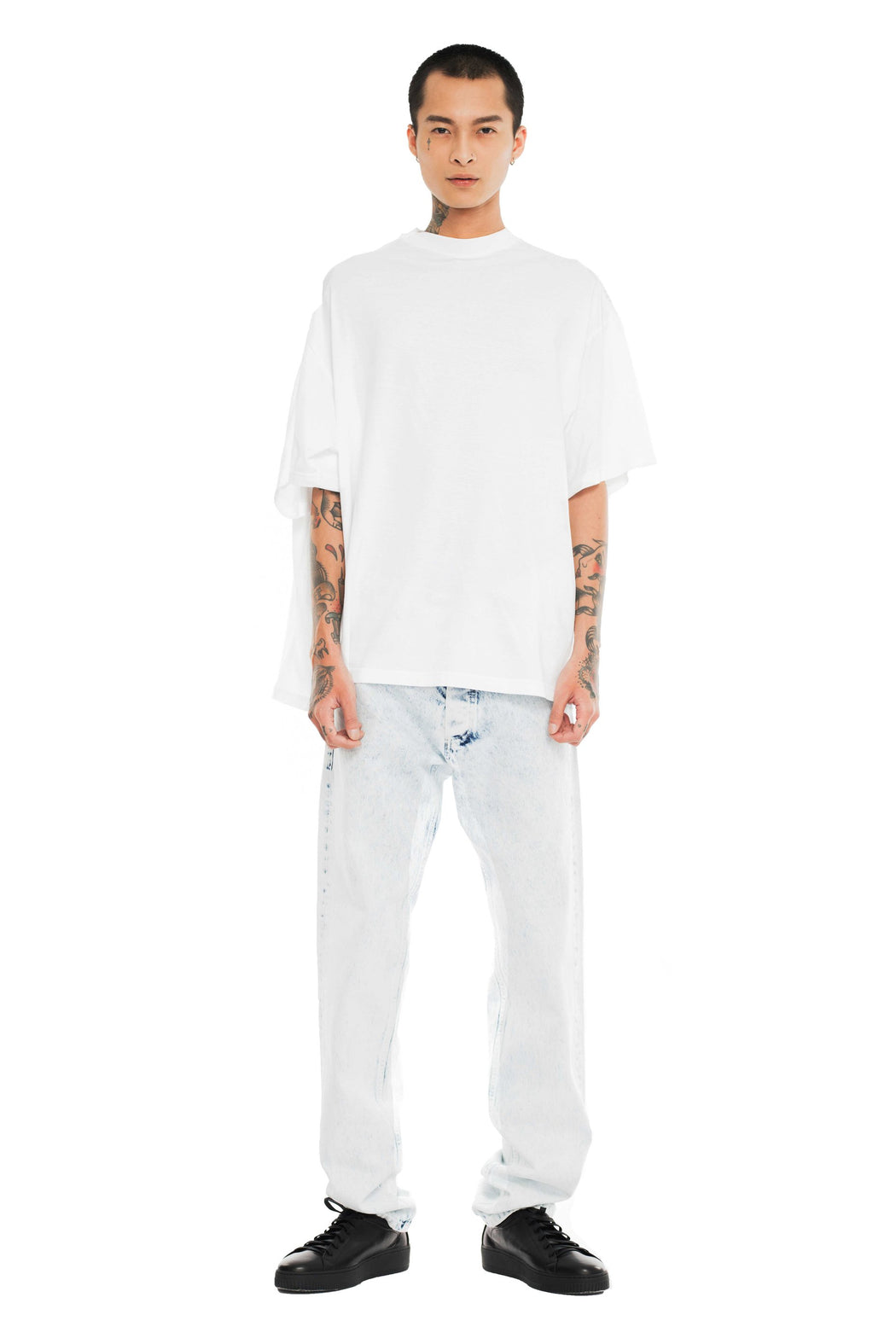 Double T-Shirt - White