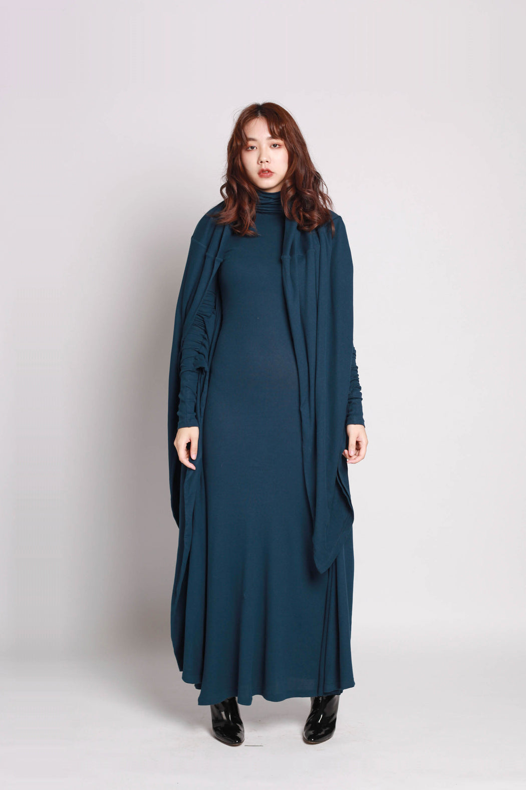 Square Dress - Navy