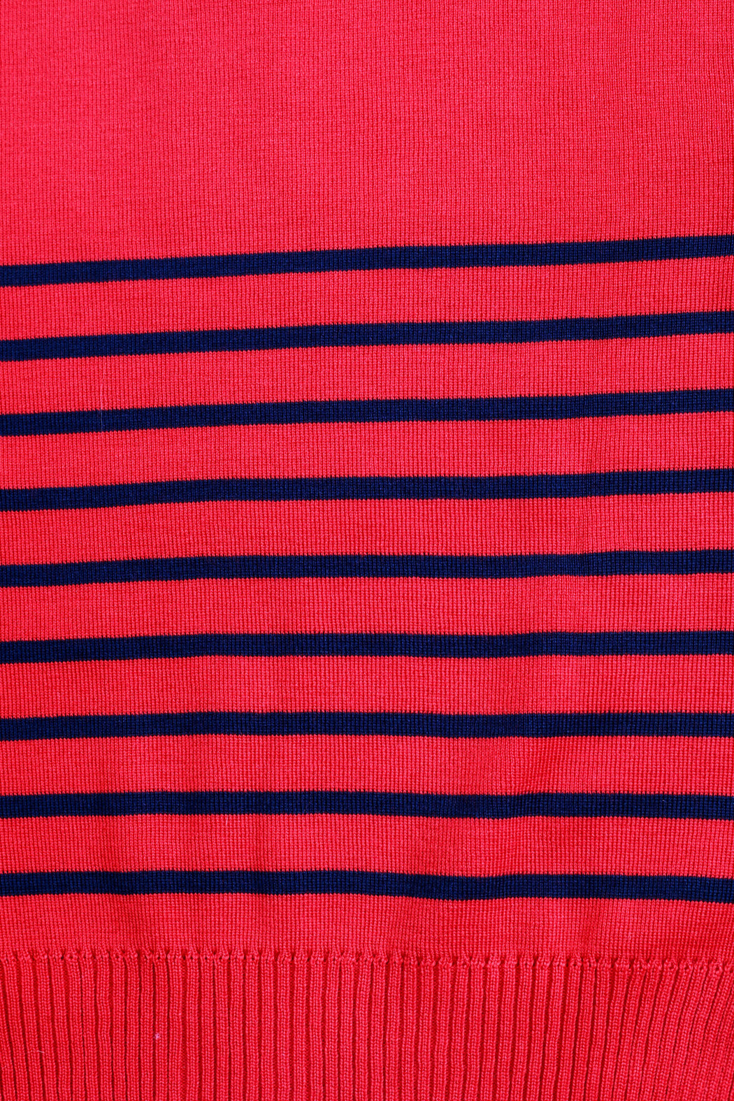 Stripe Pullover - Red/Navy
