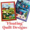 Floating Quilt Designs
