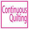 Continuous quilting designs