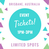 Only limited spots left! Brisbane Sweet Pea Event.