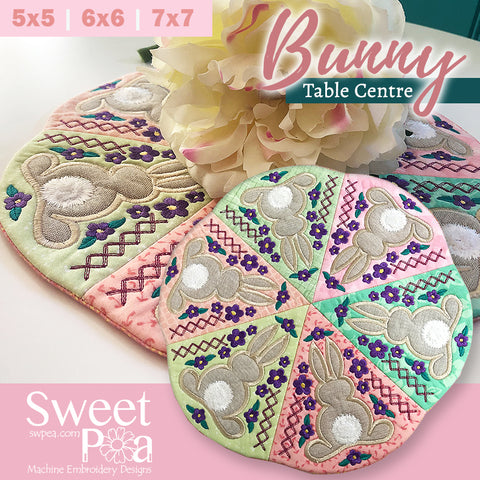 https://swpea.com/collections/easter-in-the-hoop/products/bunny-table-centre-5x5-6x6-7x7-in-the-hoop-machine-embroidery-design
