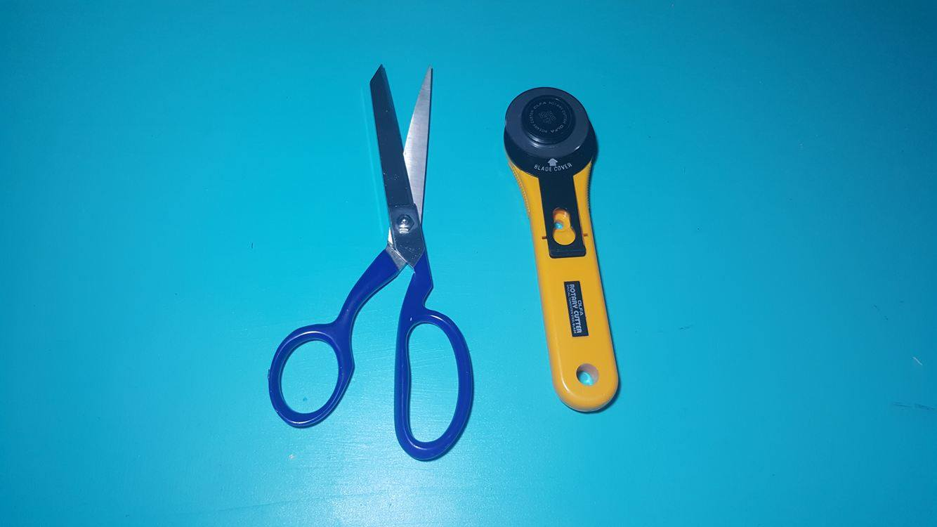 blog machine embroidery tools checklist scissors and rotary cutter