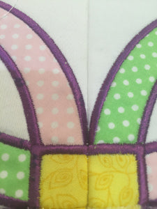 Satin stitch aligning well together