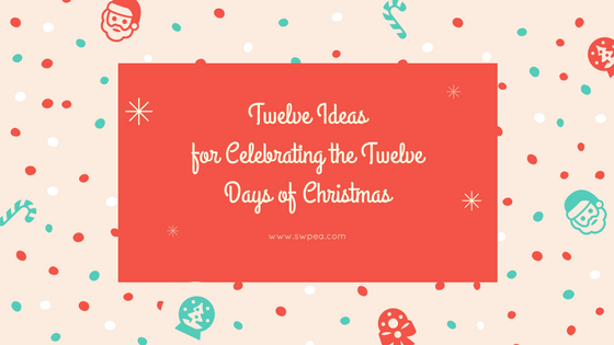 Holiday Ideas Blog Title