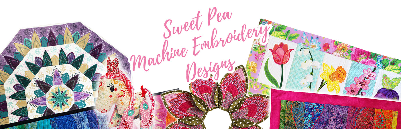 Machine Embroidery Designs - Downloadable ITH Patterns