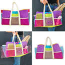 Pockets Aplenty Tote Bag 5x7 6x10 7x12 9.5x14