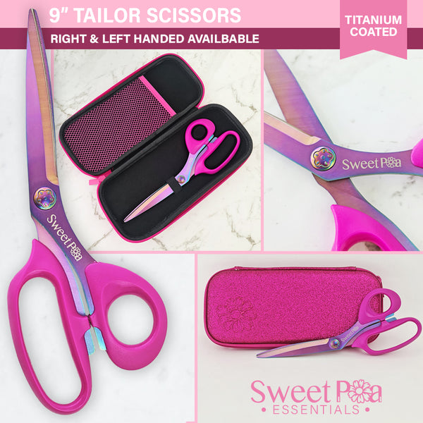 "Sweet Pea Professional 9"" Tailor Scissors"