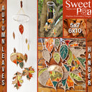 Autumn Leaves Hanger 5x7 6x10