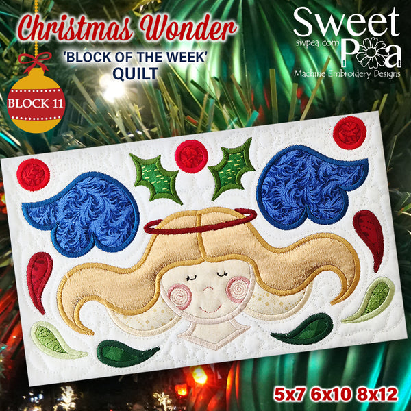 BOW Christmas Wonder Mystery Quilt Block 11