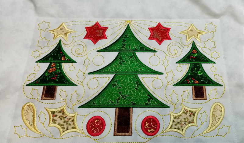 BOW Christmas Wonder Mystery Quilt Block 2