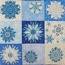 Snowflake Lace Cushion 4x4 5x5 6x6