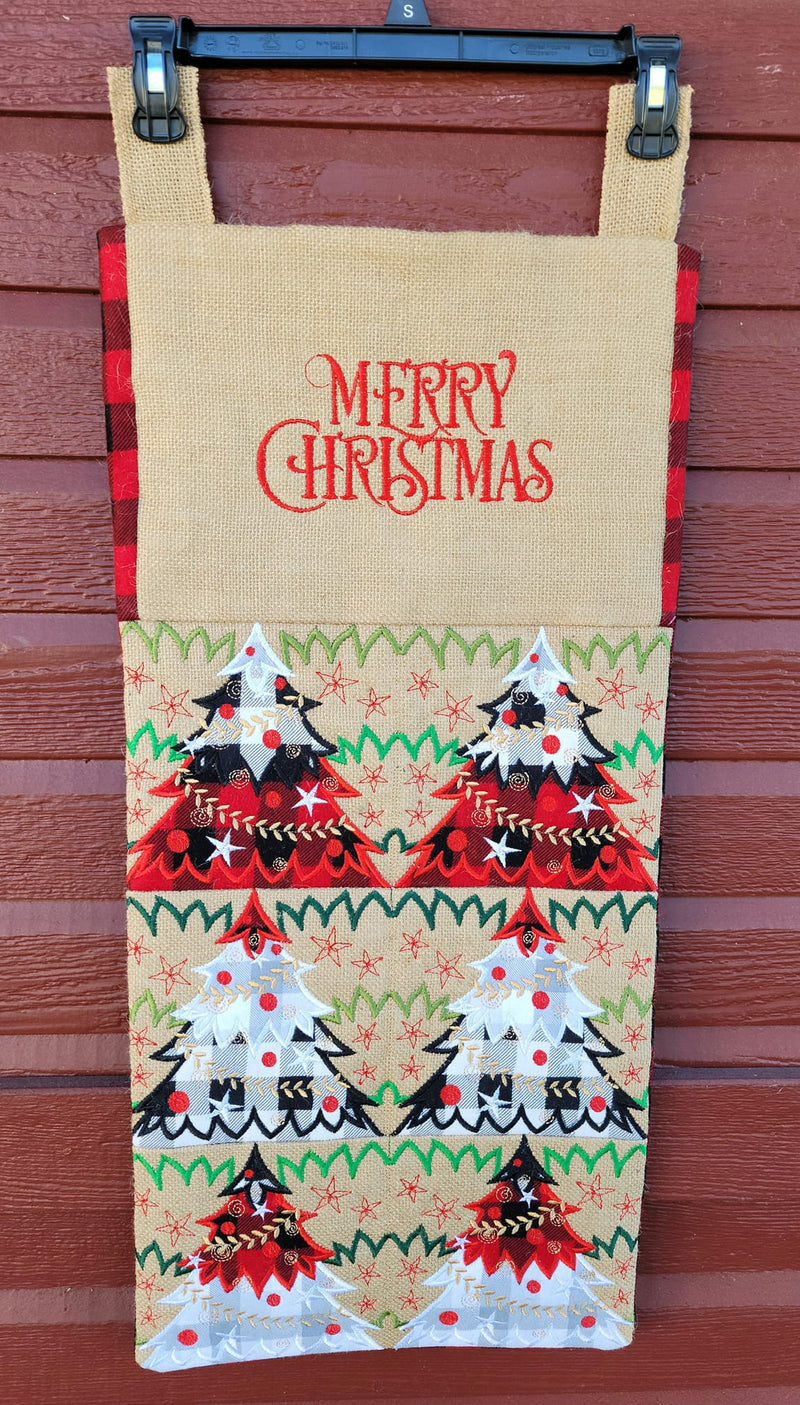 Christmas Forest Blocks/Quilt 4x4 5x5 6x6 7x7 8x8