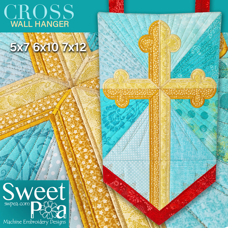 Cross Wall Hanger 5x7 6x10 7x12